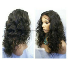 Malaysia Curly 100% Indian Remy Human Hair Lace Front Wig best selling!