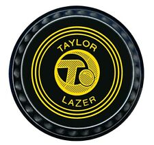 Taylor Lazer Heavy Weight Black Bowls (00-4) - 161-4