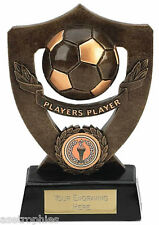 Players Award Football Trophy Celebration Shield Series FREE ENGRAVING