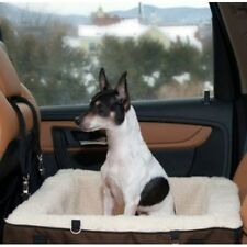 Chocolate or Slate Color Dog Booster Seat,Car Seat,Bed in Medium or Extra Large