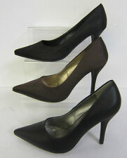 L2924 - Anne Michelle Pointed Toe Court Shoes - Brown or Black **REDUCED**