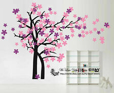 Blowing Tree Removable Wall Art Stickers Kids Nursery Baby Room Vinyl Decals