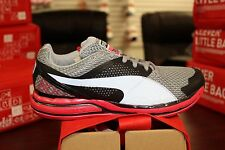 Women's Puma Faas 800 S 18631404 Black Quarry Teaberry Red Running