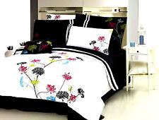 New stunning flowers Luxury Duvet Cover 7pcs Set QUEEN AND KING available