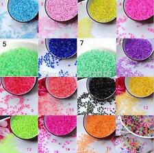 NEW Free Ship 1200pcs 2mm Czech Glass Seed Spacer beads Jewelry Making DIY