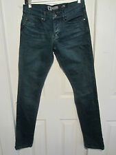 Hot Topic Social Collision Rude Teal Ink Dye  Skinny Jeans Different Sizes