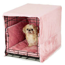 Pet Dreams Plush Cratewear Dog Bedding Sets in Four Colors and Six Sizes