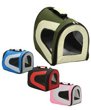 PET CARRIER AIRLINE APPROVED 'SPORTY' FOLDING COLLAPSIBLE  TOTE BAG