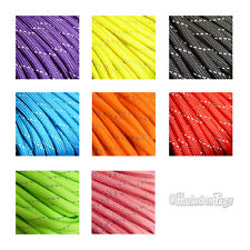 550 Light Reflective Parachute Cord 50ft - 7-Strand Atwood Paracord Made in USA
