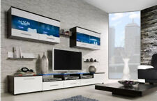 HIGH GLOSS TV CABINET / TV WALL UNIT / TV STAND  'AMA 1'