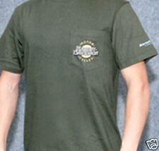 New Tags Harley-Davidson Mens Olive Green Chest Pocket Short Sleeve T-Shirt M-XL