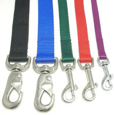 SCOTT Nylon Dog Leads, Various Sizes & Colors