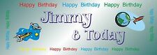 Personalised Happy Birthday Banners Party Banner Celebration Decoration b13