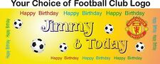 Personalised Happy Birthday Banners Party Banner Celebration Decoration b18