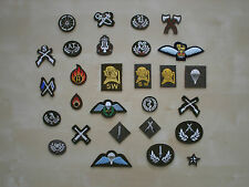 British Army Trade Badges - Other Regiments & Corps No2 Dress