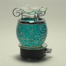 """Electric """"Crushed Glass"""" Scent Oil Diffuser Warmer Aroma Fragrance Night light"""