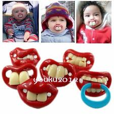 Creative Funny Dummy Pacifier Soother Baby Toddler's Joke Prank 6 Designs Y