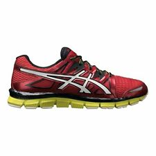 Mens ASICS GEL-Blur33 2.0 Athletic Running Shoes Red/Lime