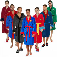 SUPERMAN BATMAN WONDER WOMAN DC COMICS BATHROBE CLASSIC THICK DRESSING GOWN ROBE