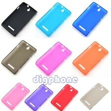 Matte TPU Silicone Gel Case Cover For Sony Xperia E C1504 C1505 Dual C1604 C1605