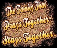 Religious Hoodie The Family That Prays Together Stays Together Christian Jesus