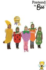 Fruit & Veg 1 of Your 5 a Day! Tabards Quality Fancy Dress Costume 3/7 years