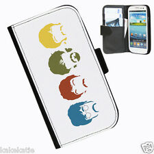 Beatles Leather wallet case for Samsung Galaxy S3 i9300 phone case
