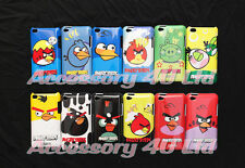 ANGRY BIRDS GLOSSY SHINY HARD CASE FOR APPLE IPOD TOUCH 4TH GENERATION+SCREEN