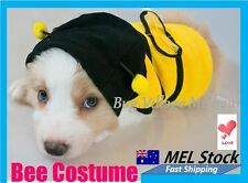 Hot Chihuahua Small Toy Dog Puppy Pet Cat Bee Costume Jacket Clothing/XXS to XXL