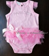 New Baby Girls Princess Ruffles One Piece Romper Jumpsuit Clothes Size 00,0,1,2