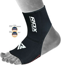 RDX Neoprene Ankle Brace Support Pad Guard MMA Foot Muay Thai Boxing Gym Sport H