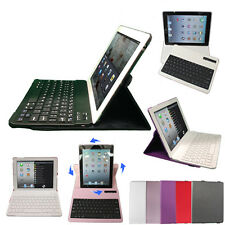 360 Rotating PU Leather Bluetooth Wireless Keyboard Case Cover for Apple iPad 2