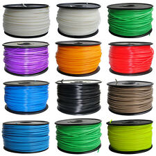 12Colors Reprap Reprapper 3D Printer Filament 1.18kg/2.6Ib ABS/PLA 3.00mm/1.75mm