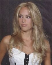 """NEW Sexy """" Angelina """" Wig Drag Queen Long Straight Hand Tied Monofilament Top"""