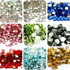 TOP Quality 1440pcs SS3-SS40 Crystal Flatback Rhinestone Nail Art Decoration DIY