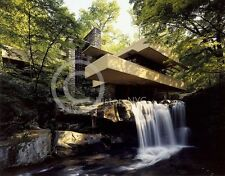 FALLINGWATER FALLING WATER FRANK LLOYD WRIGHT PHOTO