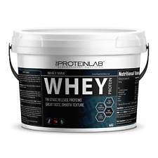 4kg PROTEIN LAB - WHEY PROTEIN POWDER -LOW FAT - HIGH PROTEIN - FREE SHAKER