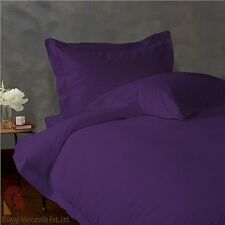 """NEW PURPLE 800TC EGYPTIAN COTTON COMPLETE US BEDDING COLLECTION 15""""DEEP POCKET!!"""