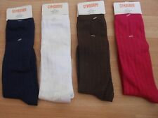 NWT GIRLS GYMBOREE SZ 3-4 KNEE HIGH SOCKS BLUE, WHITE, BROWN, PINK