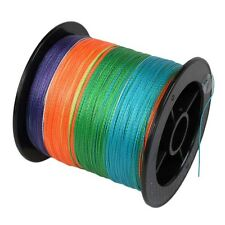 hot sale! 300m 5colors dyneema 100%PE spectra extreame braid fishing line!