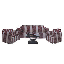 3-Pc Luxurious Jacquard Slipcovers Couch Set Sofa Loveseat Chair SF1048