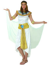 Ladies Princess Cleopatra Egyptian Queen Of The Nile Fancy Dress Costume New