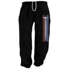 Ford Mustang Stripe black sweats tracksuit jogging training pants sweatpants