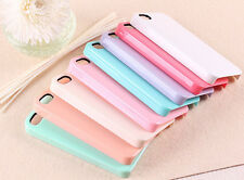 1pc Pastel Candy Color iPhone 5 / 5s high Quality Hard Plastic Case for DIY deco