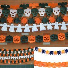 5 Styles Halloween Paper Garland Decorations Hot Decoration For Halloween Props