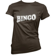 Bingo - Womens / Ladies T-Shirt - Player - 11 Colours -Free UK delivery - S-XXL
