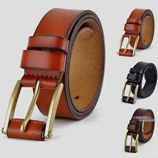P-824 Fangle 2017 men's Genuine Leather Waist Stylish Fashion Belt Free P&P