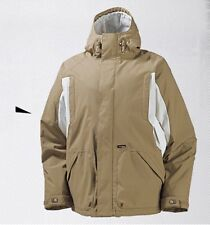 NEW BURTON HOOD JACKET TAN SMALL SNOWBOARD SKI JACKET FREE SHIPPING