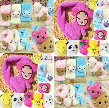 New Cartoon Animal Head Fluffy Scarf Children baby kids Characters Scarves FREE