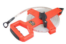 Dual scale Open Reel Measuring Tape Metric Imperial Measure 20m/30m/50m/100m